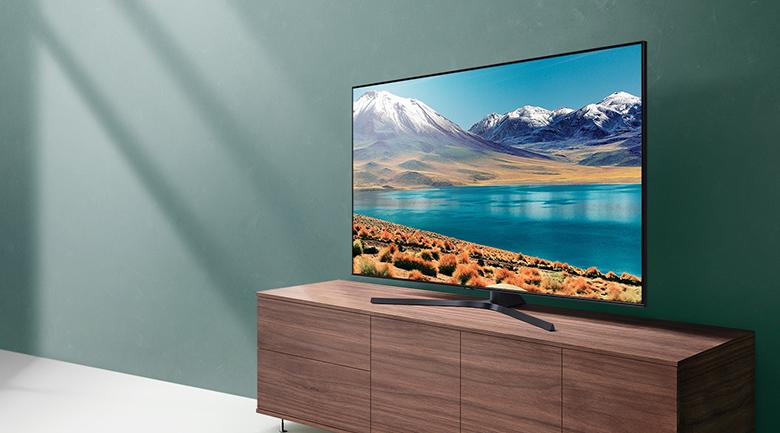 Smart Tivi Samsung 4K 55 inch UA55TU8500 - Thiết kế sang trọng