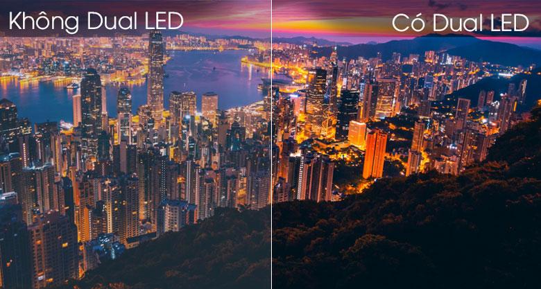 Smart Tivi Samsung 4K 50 inch UA50TU8500 - Công nghệ Dual LED