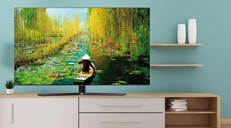 Smart Tivi Samsung 4K 50 inch UA50TU8500 - Thiết kế hiện đại sang trọng