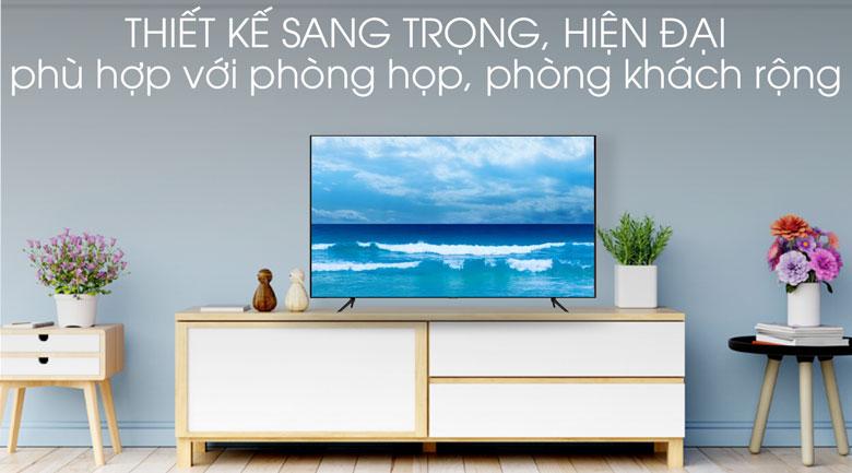 Thiết kế-Smart Tivi QLED Samsung 4K 85 inch QA85Q70T