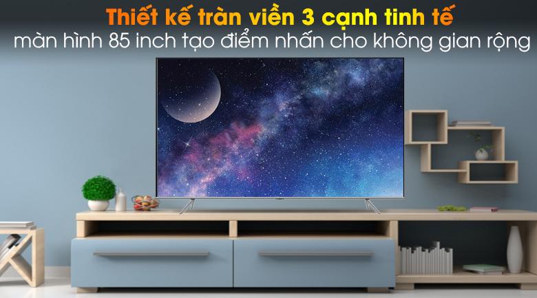 Thiết kế - Smart Tivi QLED Samsung 4K 85 inch QA85Q70T