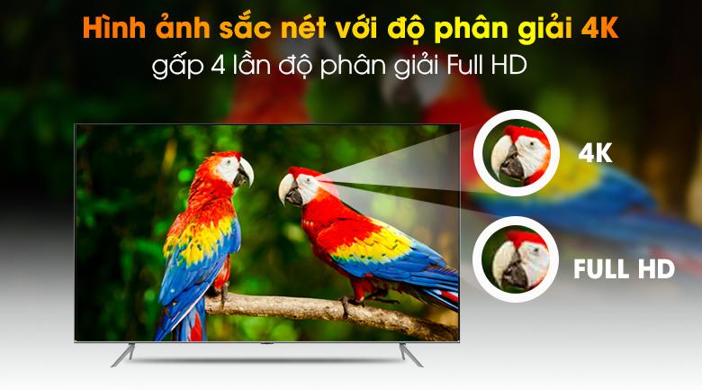 4K - Smart Tivi QLED Samsung 4K 85 inch QA85Q70T