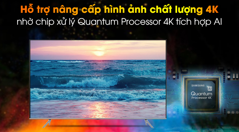 Quantum 4K-Smart Tivi QLED Samsung 4K 85 inch QA85Q70T