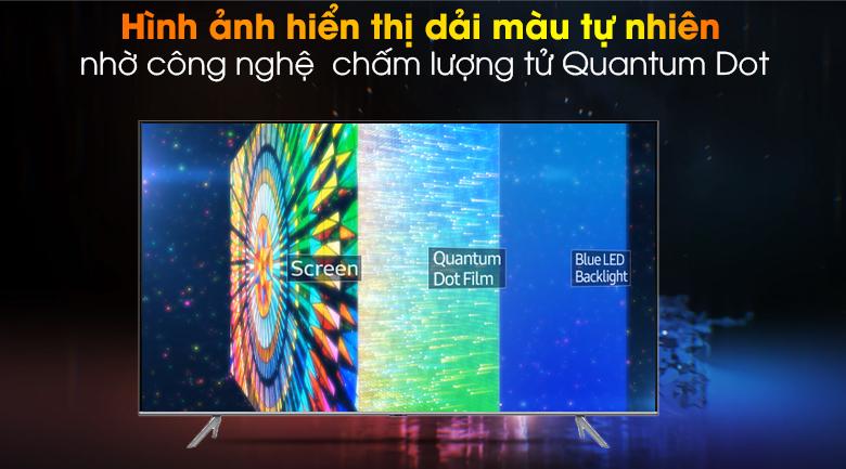 QLED-Smart Tivi QLED Samsung 4K 85 inch QA85Q70T
