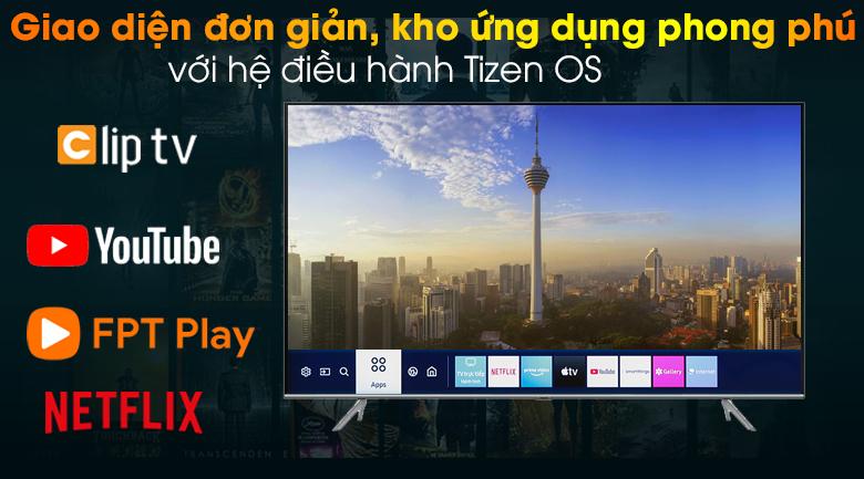 Smart Tivi QLED Samsung 4K 85 inch QA85Q70T - Hệ điều hành