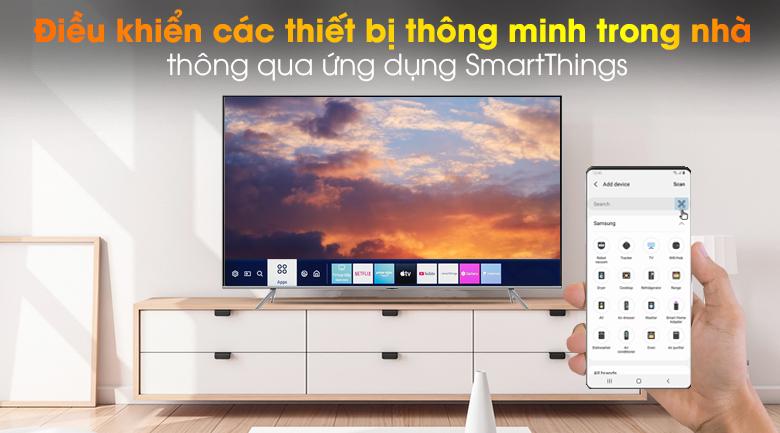 SmartThings-Smart Tivi QLED Samsung 4K 85 inch QA85Q70T