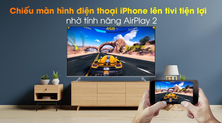 AirPlay 2-  Smart Tivi QLED Samsung 4K 85 inch QA85Q70T