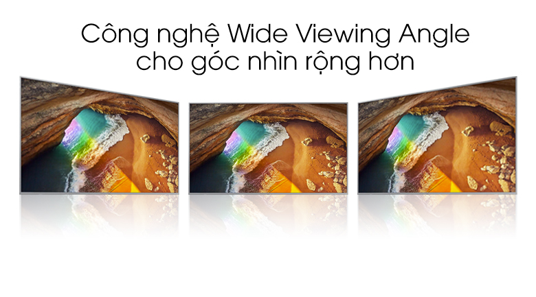 Wide view Angle-Smart Tivi QLED Samsung 4K 85 inch QA85Q70T