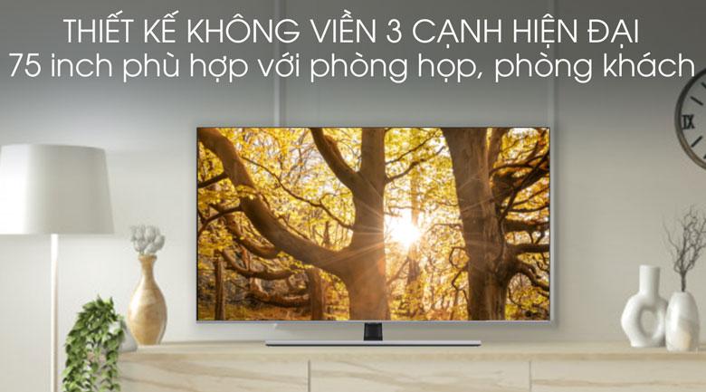Thiết kế-Smart Tivi QLED Samsung 4K 75 inch QA75Q70T