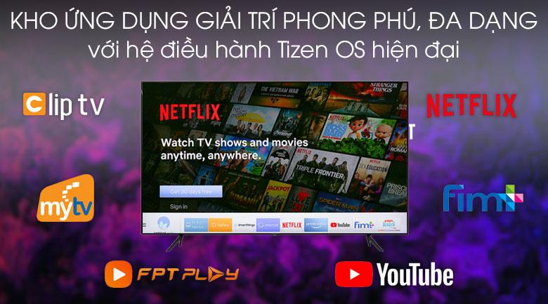 Tizen OS-Smart Tivi QLED Samsung 4K 75 inch QA75Q70T