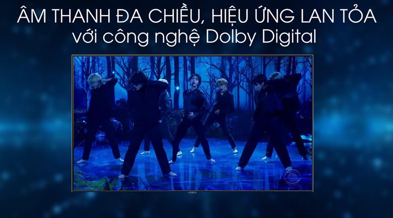 Dolby Digital-Smart Tivi QLED Samsung 4K 75 inch QA75Q70T