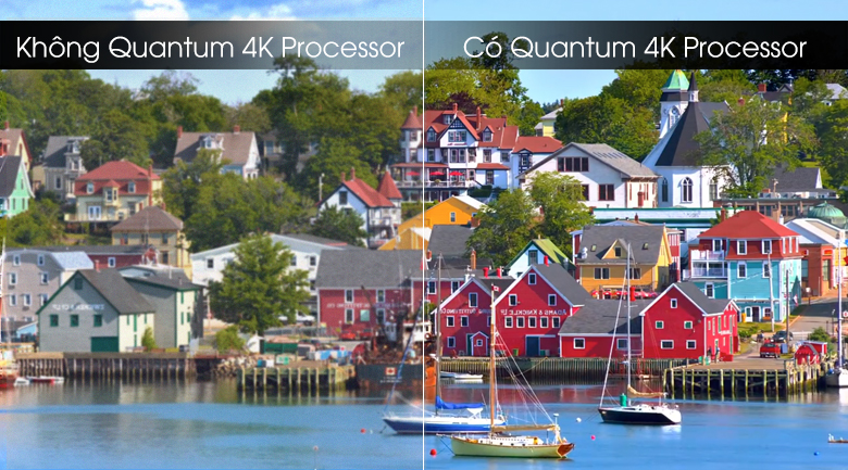 Quantum HDR Processor-Smart Tivi QLED Samsung 4K 75 inch QA75Q70T
