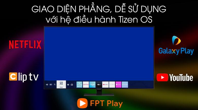 Hệ điều hành - Smart Tivi QLED Samsung 4K 75 inch QA75Q70T