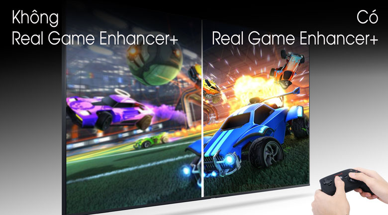 Real Game Enhancer+ - Smart Tivi QLED Samsung 4K 75 inch QA75Q70T