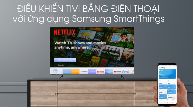 SmartThings-Smart Tivi QLED Samsung 4K 75 inch QA75Q70T