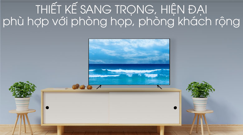 thiết kế-Smart Tivi QLED Samsung 4K 65 inch QA65Q70T