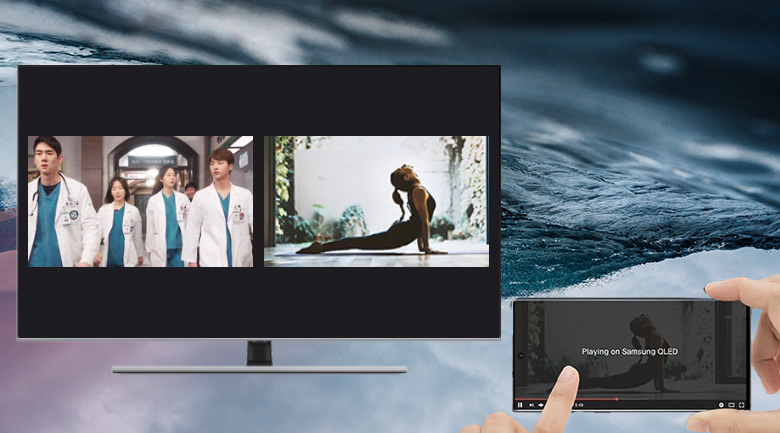 Multi View-Smart Tivi QLED Samsung 4K 65 inch QA65Q70T