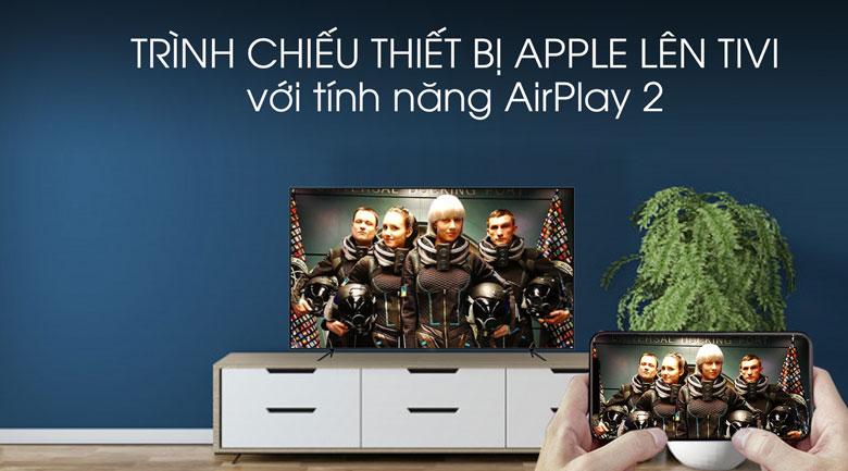 Airplay 2-Smart Tivi QLED Samsung 4K 65 inch QA65Q70T