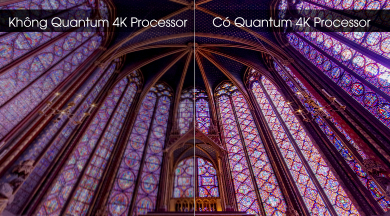 Quantum 4K Processor-Smart Tivi QLED Samsung 4K 65 inch QA65Q70T