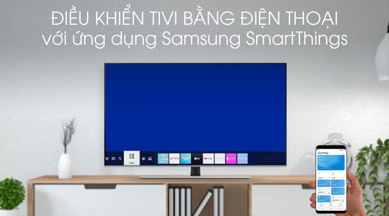 SmartThings-Smart Tivi QLED Samsung 4K 55 inch QA55Q70T