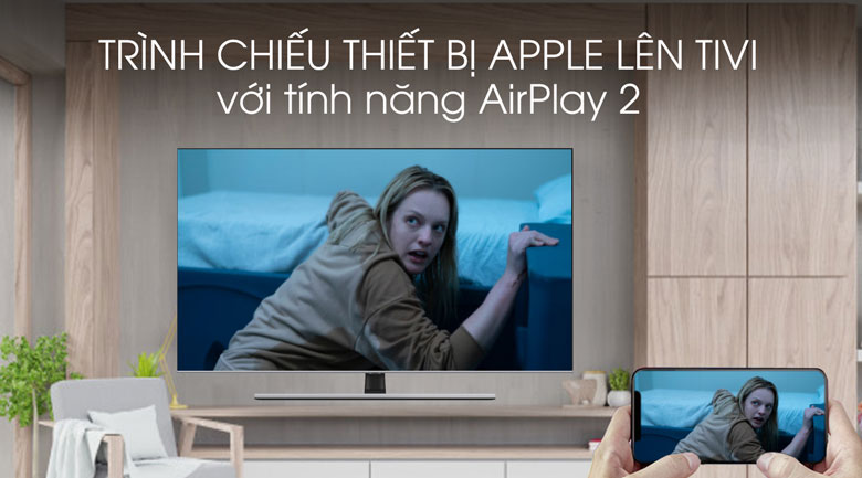 Airplay-Smart Tivi QLED Samsung 4K 55 inch QA55Q70T