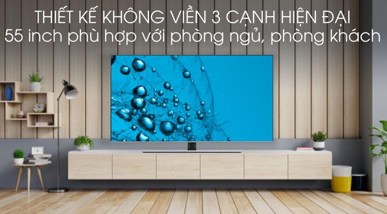 Thiết kế-Smart Tivi QLED Samsung 4K 55 inch QA55Q70T