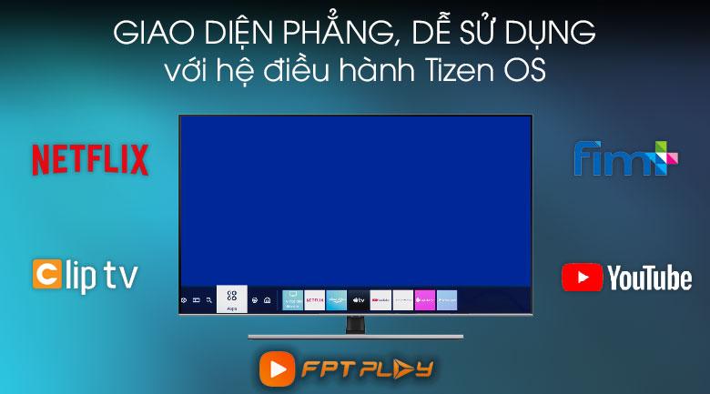 Tizen-Smart Tivi QLED Samsung 4K 55 inch QA55Q70T