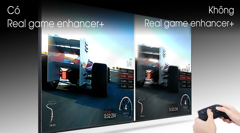 Real Game Enhancer+-Smart Tivi QLED Samsung 4K 55 inch QA55Q70T