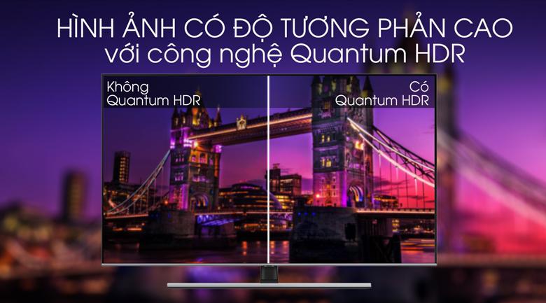 Quantum HDR - Smart Tivi QLED Samsung 4K 55 inch QA55Q70T