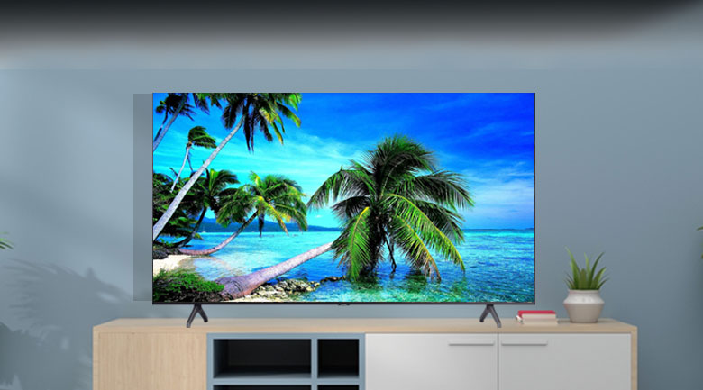 Smart Tivi Samsung 4K 75 inch UA75TU7000 - Thiết kế tinh tế