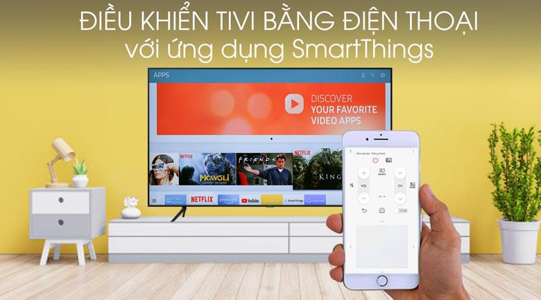 Smart Tivi Samsung 4K 75 inch UA75TU7000-smartThings
