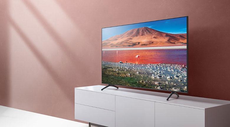 Smart Tivi Samsung 4K 75 inch UA75TU7000-thiết kế