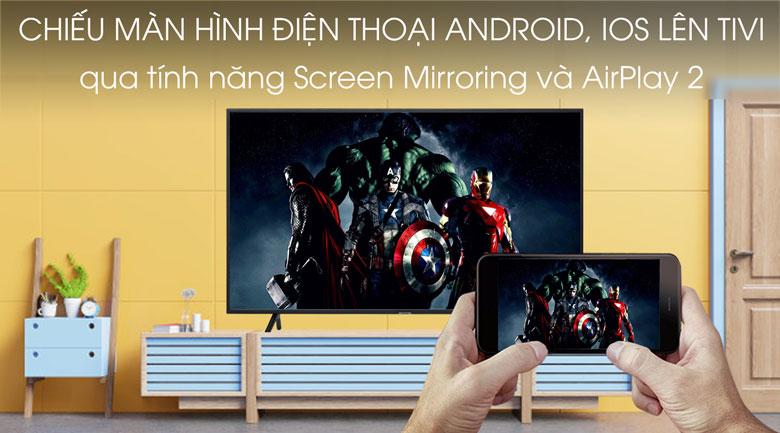 Smart Tivi Samsung 4K 75 inch UA75TU7000-trình chiếu