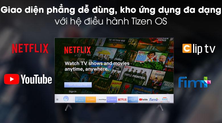 Smart Tivi Samsung 4K 75 inch UA75TU7000 - Tizen OS