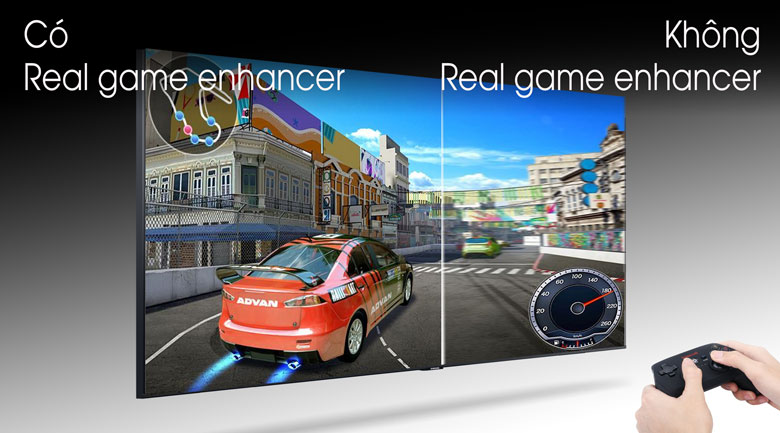 Smart Tivi Samsung 4K 65 inch UA65TU7000-Real Game Enhancer