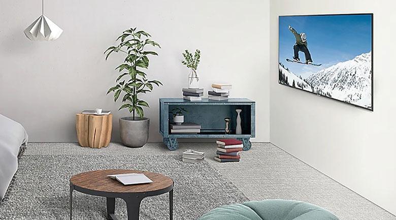 Smart Tivi Samsung 4K 58 inch UA58TU7000-thiet ke