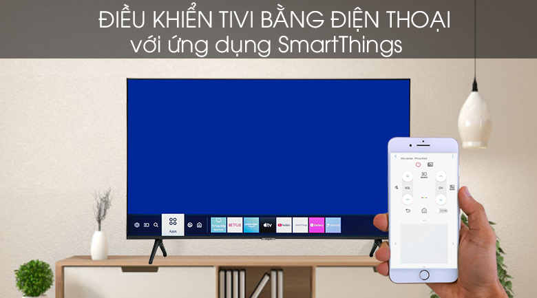 Smart Tivi Samsung 4K 55 inch UA55TU7000 - SmartThings
