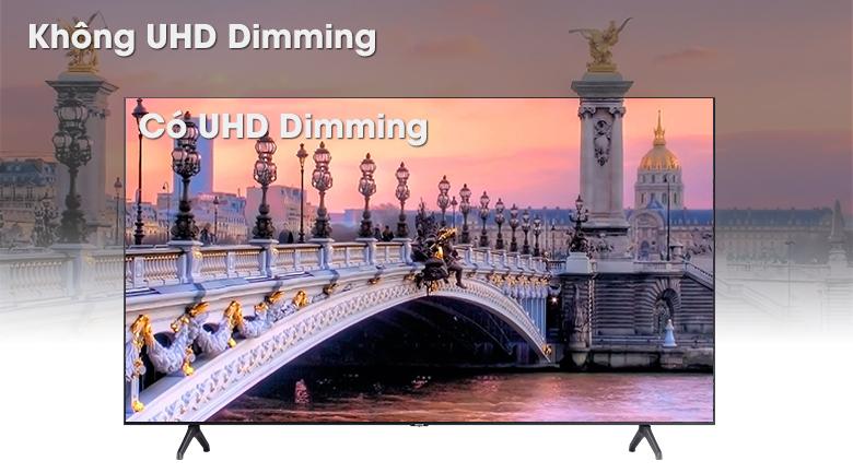 Smart Tivi Samsung 4K 55 inch UA55TU7000 - Công nghệ UHD Dimming
