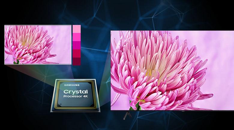 Smart Tivi Samsung 4K 55 inch UA55TU7000 - Crystal 4K