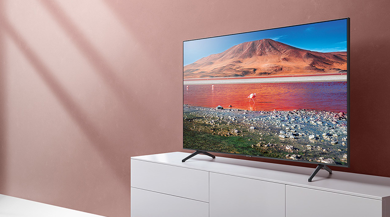 Smart Tivi Samsung 4K 55 inch UA55TU7000 - Thiết kế tinh tế