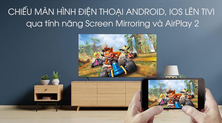Smart Tivi Samsung 4K 50 inch UA50TU7000 - Chiếu màn hình