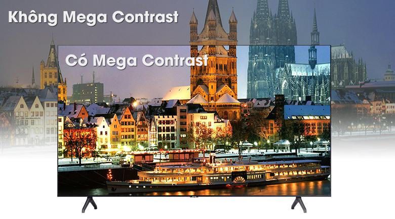 Smart Tivi Samsung 4K 50 inch UA50TU7000 - Công nghệ Mega Contrast
