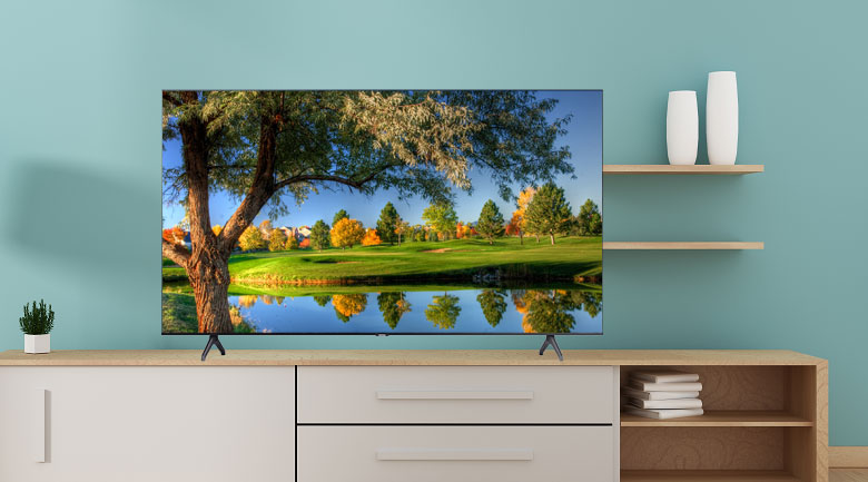 Smart Tivi Samsung 4K 50 inch UA50TU7000 - Thiết kế tràn viền tinh tế