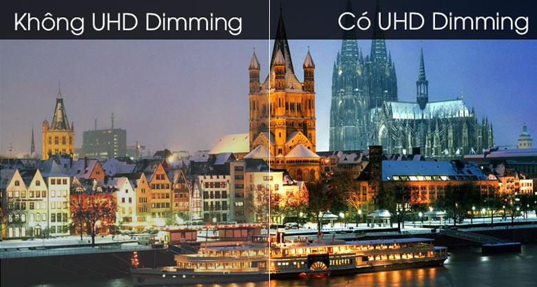 Smart Tivi Samsung 4K 50 inch UA50TU7000 - Công nghệ UH Dimming