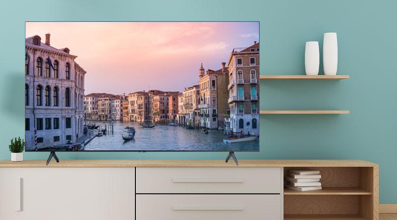 Smart Tivi Samsung 4K 43 inch UA43TU7000 - Thiết kế sang trọng