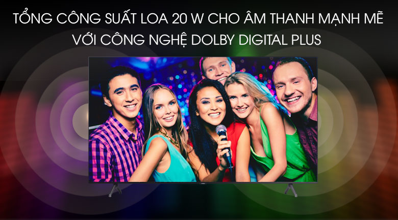 Smart Tivi Samsung 4K 43 inch UA43TU7000 - Công nghệ âm thanh Dolby Digital Plus