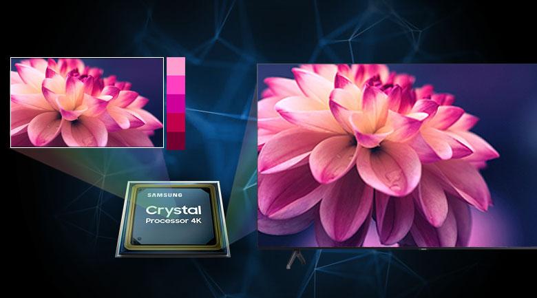 Smart Tivi Samsung 4K 43 inch UA43TU7000 - Crystal Processor 4K
