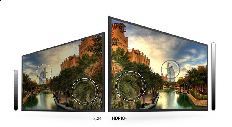 Smart Tivi Samsung 4K 43 inch UA43TU7000 - Công nghệ HDR10+