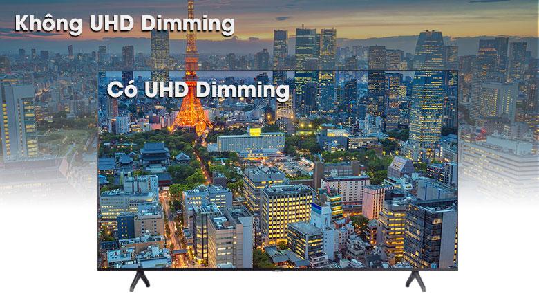Smart Tivi Samsung 4K 43 inch UA43TU7000 - Công nghệ UHD Dimming