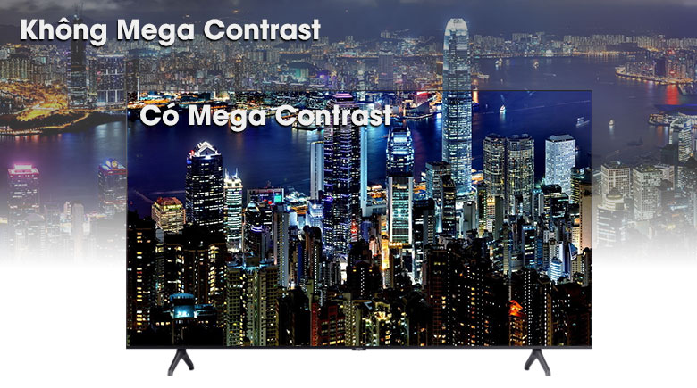 Smart Tivi Samsung 4K 43 inch UA43TU7000 - Công nghệ Mega Contrast